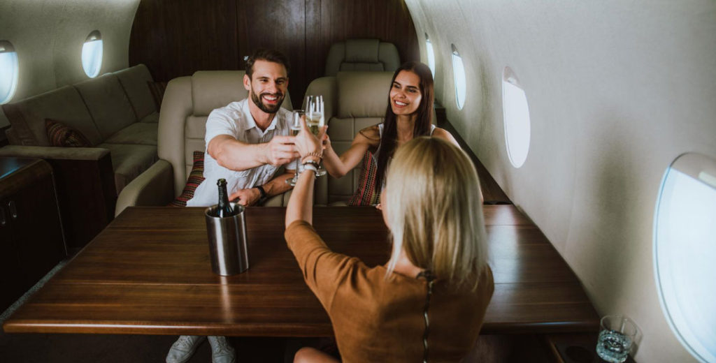 Private Jet Charter Passengers